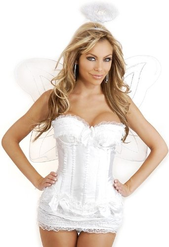 Daisy Corsets 4 PC Sexy Angel Costume