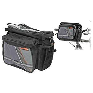 Sunlite Bar Tender 4 Bike Handlebar Bag (488 c.i.)