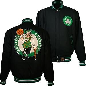 Boston Celtics NBA Reversible J.H. Design Jacket (Green) by J.H. Design