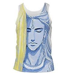 Snoogg Tegaki Shiva 2798 Mens Casual Beach Fitness Vests Tank Tops Sleeveless T shirts