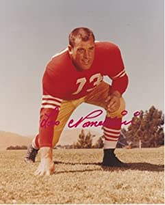 Leo Nomellini Autographed Hand Signed San Francisco 49ers 8x10 Photo by Real Deal Memorabilia