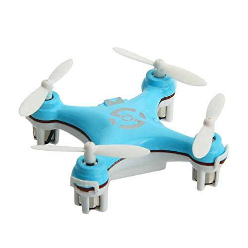 Cheerson Cx-10 Mini 2.4g 4ch 6 Axis LED Rc Quadcopter Airplane Blue