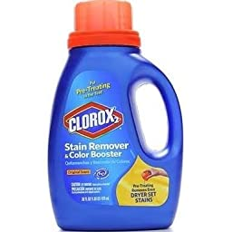 Clorox 30037 Liquid Concentrated Bleach, Regular Fragrance, 33 fl oz Bottle (Case of 6)