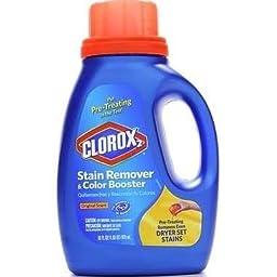 Clorox 30037 Liquid Concentrated Bleach, Regular Fragrance, 33 fl oz Bottle (Case of 6)