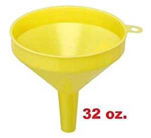 6 Large Plastic Funnel (32 Oz.) *Great Quality* by Chef Kitchen