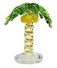 東京ミモレ Glasswork ジョイキャンドル用ガラス細工  SNT-004 椰子の木