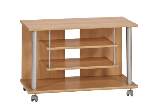 Maja 18988831 TV and Video Trolley 800 x 545 x 400 mm Beech Finish