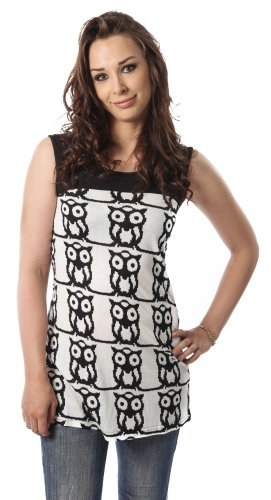 Abito JODY digitale OWL vestito Innocent nero Large