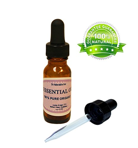 Ravintsara Essential Oil 100% Pure & Organic 0.6 oz with glass dropper