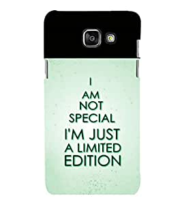 printtech Cool Quotes Back Case Cover for Samsung Galaxy A7 2016 Edition