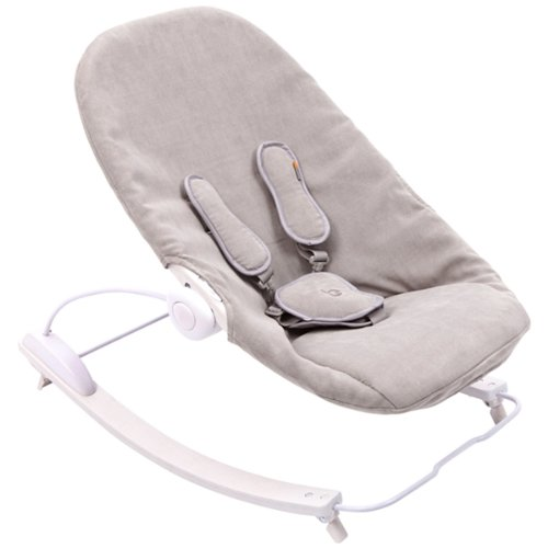 bloom Coco Go Lounger in Beach House White and Frost Grey