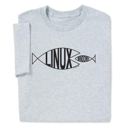 Linux Fish T-shirt