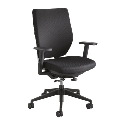 Safco Arm Kit For Sol Chair - Black front-994576