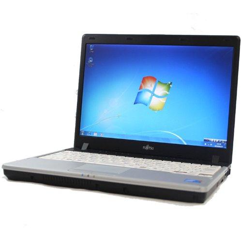 FUJITSU LIFEBOOK P750A Core2Duo 2GB 160GB DVDスーパーマルチ 12.1型液晶 無線LAN Windows7 中古