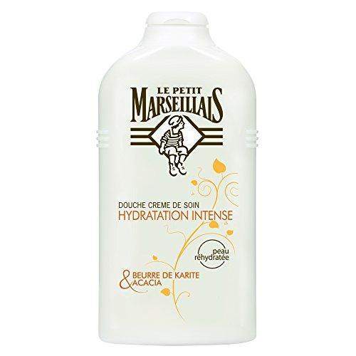 Le Petit Marseillais - Crema Doccia Idratazione Intensa / burro di karitè e Tunisia Acacia - 250 ml - Set di 2