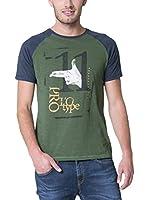 BIG STAR Camiseta Manga Corta Rinobal_Ts_Ss (Verde)
