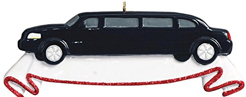 limousine-personalized-christmas-tree-ornament