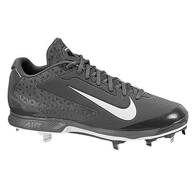 Buy Mens Nike Air Huarache Pro Low Metal Baseball Cleat Graphite White by Nike