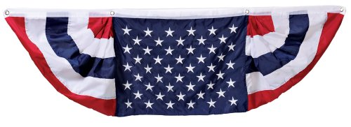 Miles Kimball American Flag Bunting front-899329