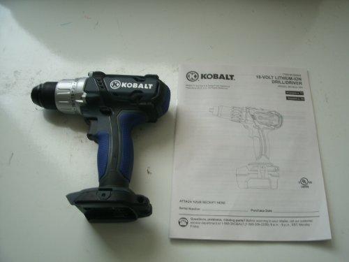 Kobalt Bare Tool 18-Volt 1/2-in Cordless Drill/Driver Model# K18LD-16A