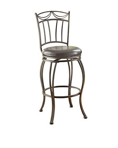 Acme Furniture Bar Chair with Swivel, Bronze