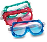 LEARNING RESOURCES LER2449 RAINBOW SAFETY GOGGLES SET OF 6