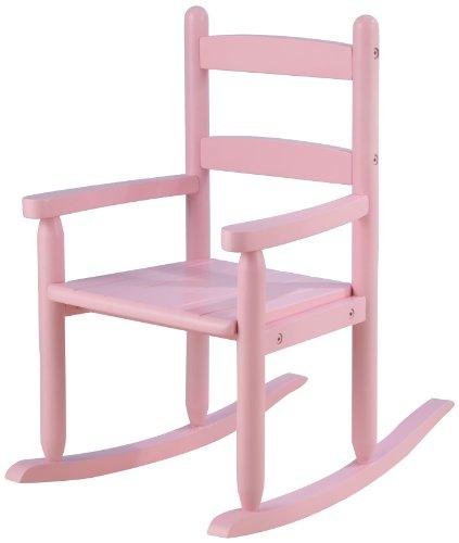 KidKraft 2 Slat Rocker Pink Furniture Chairs Rocking Chairs