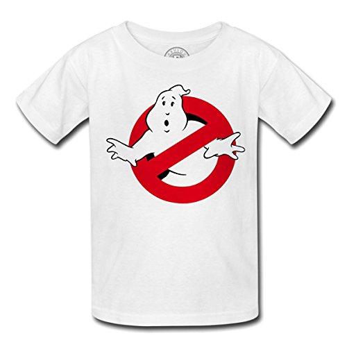 T-shirt enfant ghostbusters fantome film logo peur scary fun