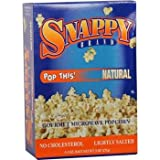 12/3 Pack Snappy Natural Microwave Popcorn [36 Pieces] *** Product Description: Packaged 12 Per Box 3 Boxes Per Case For A Total Of 36 Popcorn Bags. 12/3 Packs Per Case - Snappy Natural Microwave Popcorn ***