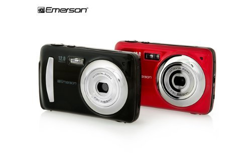 Red Emerson 12 Mega Pixel Digital Camera With 2.4