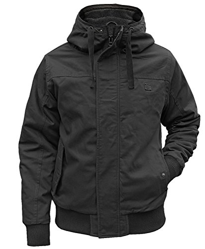 Brandit Winterjacke Grizzly schwarz - 4XL