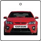 YOUR NAME VAUXHALL VXR8 CAR AIR FRESHENER