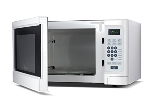 Westinghouse Wcm11100W 1000W Counter Top Microwave Oven, 1.1 Cubic Feet, White