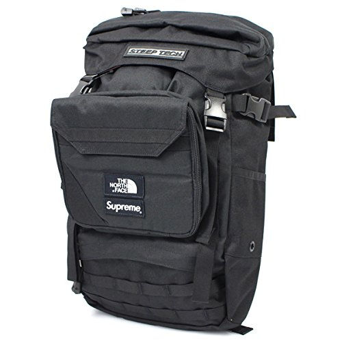 SUPREME シュプリーム ×THE NORTH FACE 16SS Steep Tech Backpack バックパック 黒白 並行輸入品 フリー