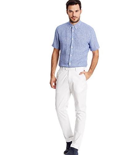 Pepe Jeans London Camicia Uomo Arcola [Blu]