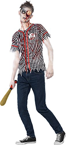 Zombie Baseball Player Costume