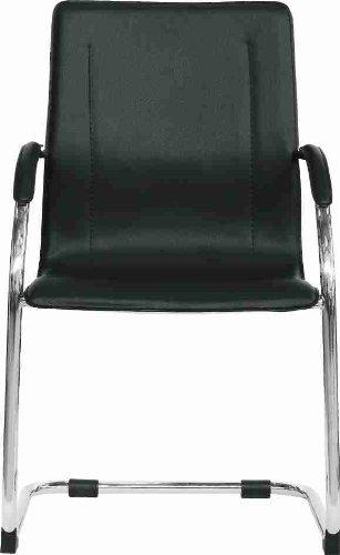 Stil sedie poltrona sedia ufficio su slitta modello milano for Sedie ufficio milano
