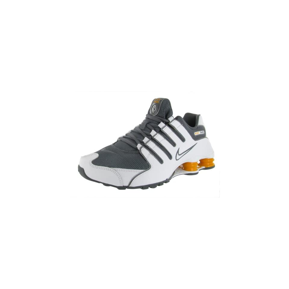 f7ff272bbf1 Nike Shox NZ Mens Running Shoes 378341 138 White 10.5 M US on PopScreen