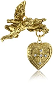 The Vatican Library Collection Glory of the Cross Brooch
