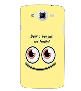PrintDhaba Quote D-1974 Back Case Cover for SAMSUNG GALAXY MEGA 5.8 (Multi-Coloured)