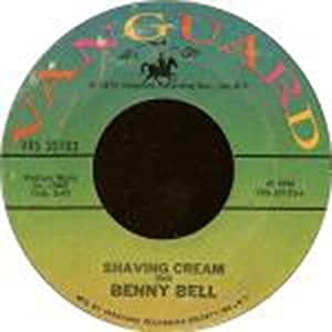 "Benny Bell - Shaving Cream / The Girl From Chicago - [7""]"
