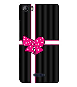 Gift Love Girly Girl 3D Hard Polycarbonate Designer Back Case Cover for Micromax Canvas 5 E481