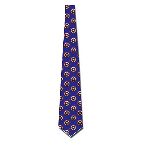 HANDSOMEFEEL Captain America Neck Suits Tie Skinny Tie