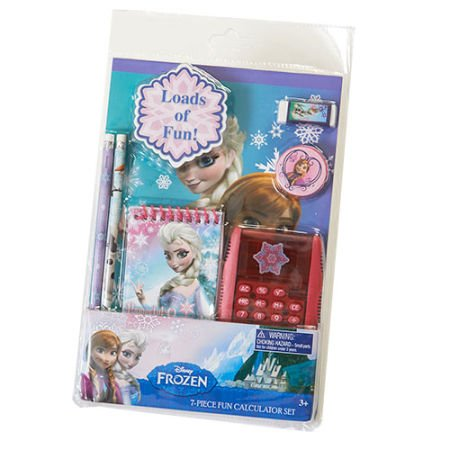 Disney Frozen 7 Piece Calculator Set - 1
