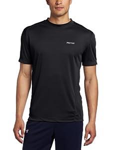 Marmot Herren T-Shirt Windridge Short Sleeve, Black, S, 60390