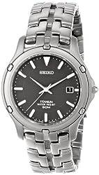 Seiko Men's SLC033 Le Grand Sport Titanium Watch