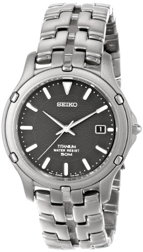 "Seiko Men's SLC033 ""Le Grand Sport"" Titanium Watch"