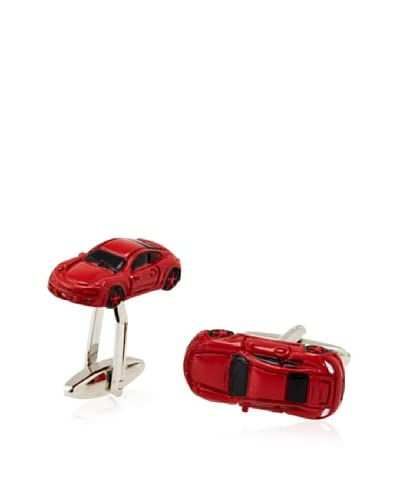 Link Up Red Sports Car Cufflinks