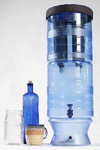 Berkey Blw-4X4-Bb 2.75 Gal. Water Purifier With White Led Light Base