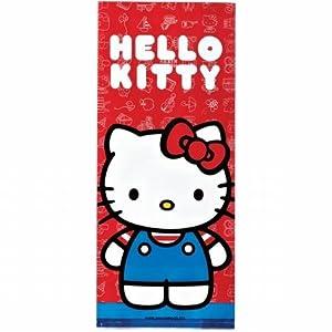 Wilton W9127575 Treat Bags 4X9.5 16/Pkg-Hello Kitty